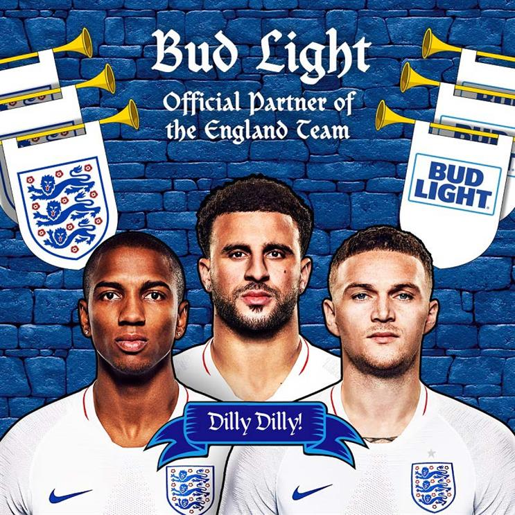 Dele Dele! Bud Light replaces Carlsberg as official beer of England football team