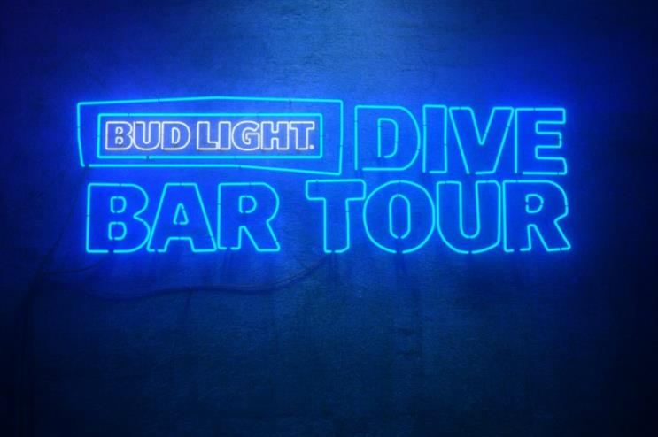 Global Bud Light To Launch Dive Bar Tour
