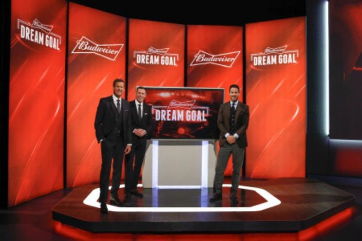 The winning goal will be chosen by Budweiser's three-man judging panel