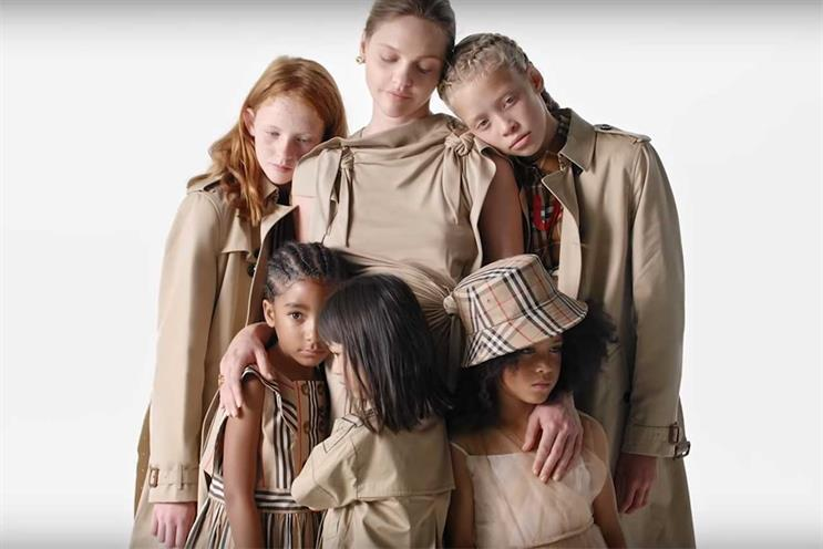 Burberry: ID Comms is working on the pitch process