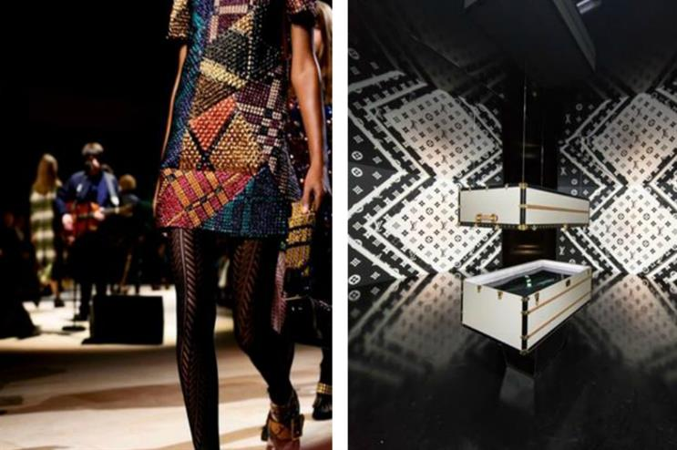 This month's Brand Slam compares the experiential strategies of two designer brands: Burberry and Louis Vuitton