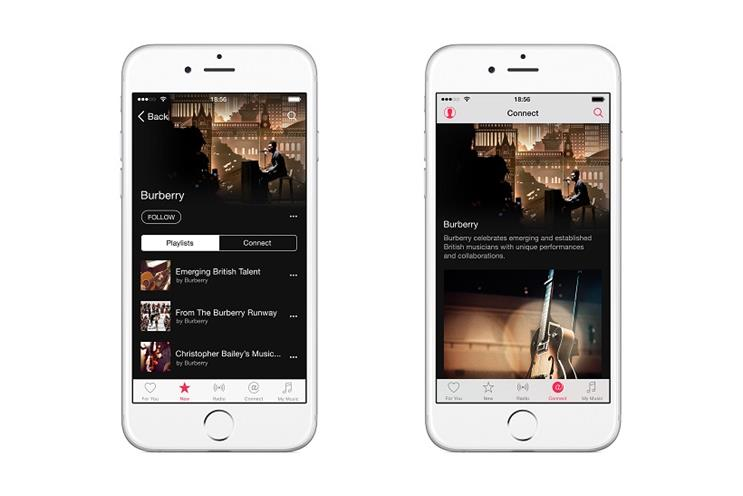 Burberry: first brand to launch a curator channel on Apple Music