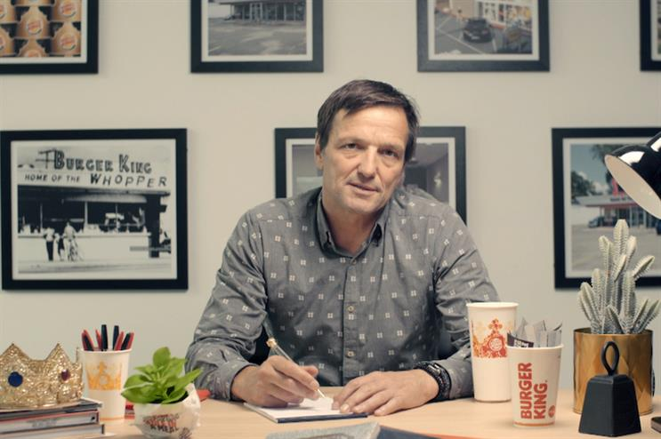 New Burger King UK CEO Alasdair Murdoch appointed BBH and features in its campaign