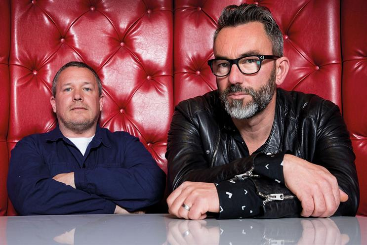 Y&R London: Burley (right) has boosted his creative team with the hire of Bolton
