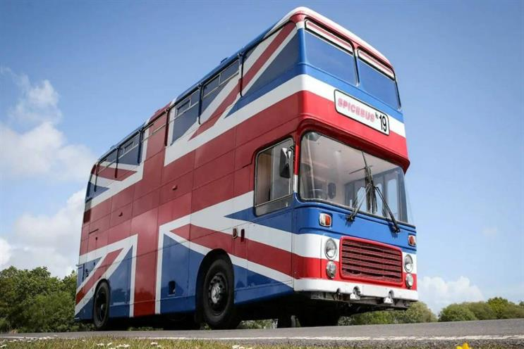 Spice Girls: bus appeared in Spice World