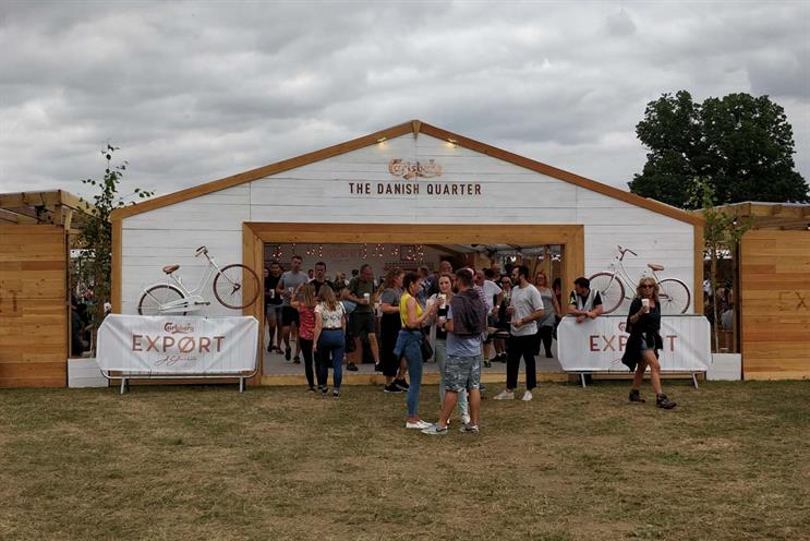 Why Carlsberg has ditched football for festivals