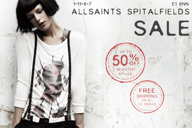 AllSaints: first time fashion label has made agency appointment