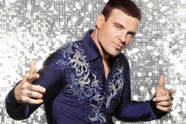Vanilla Ice: the star of last year's Dancing on Ice
