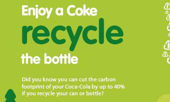 Coca-Cola aims to get the UK recycling more