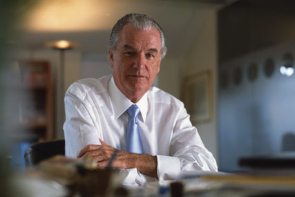 Lord Bell: 'right credentials'