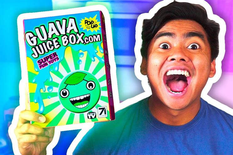 Guava Juice box: Launched by Studio71 creator Roi Fabito