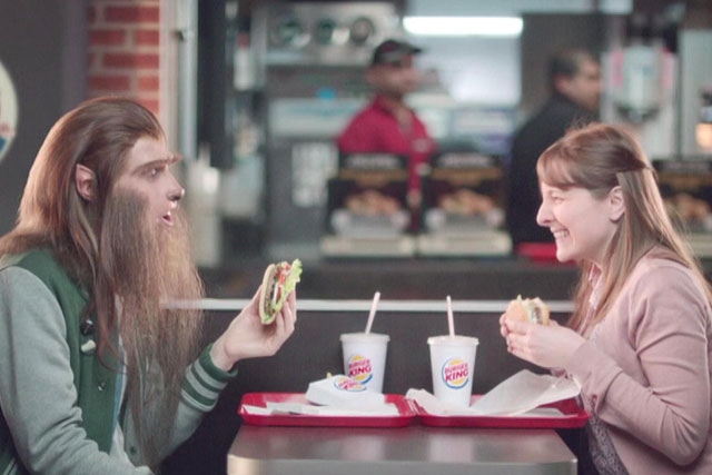 New Burger King ad by CHI & Partners