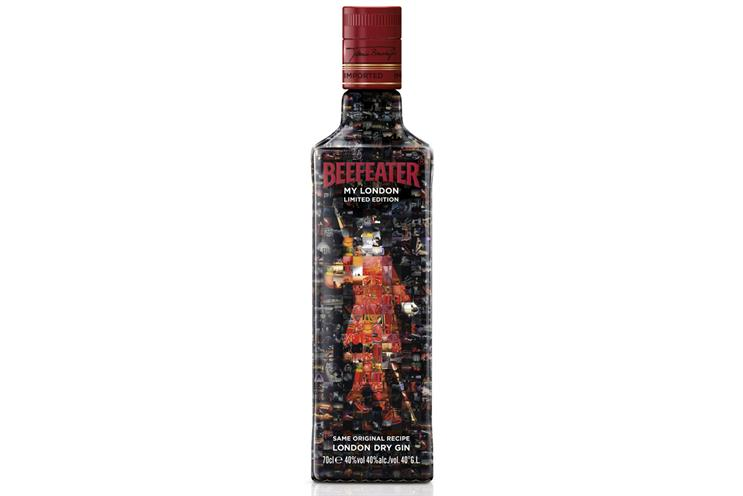 Beefeater creates 'My London' bottle with user generated photos