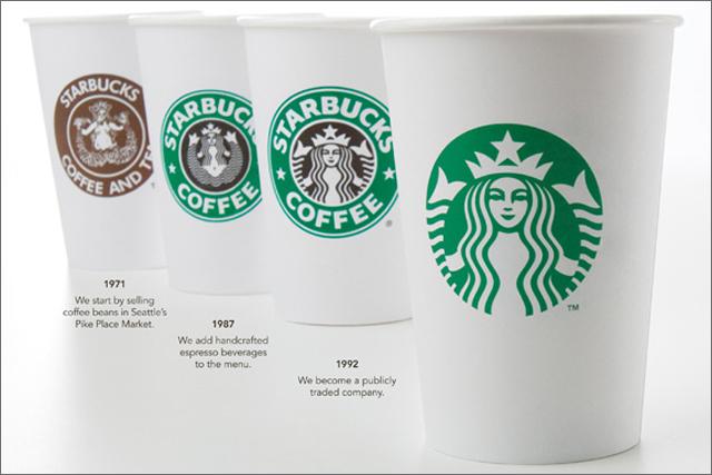 Starbucks: updates coffee brand logo