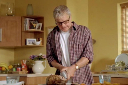 Aunt Bessie's...making Christmas easy in its last TV campaign