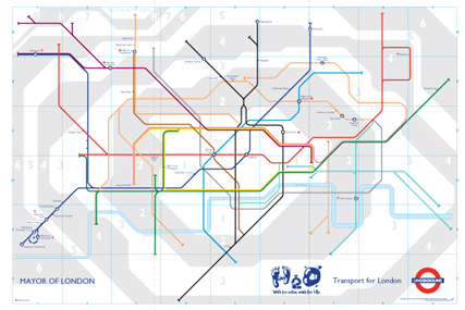 Water charities: revised H2O Tube map features in campaign