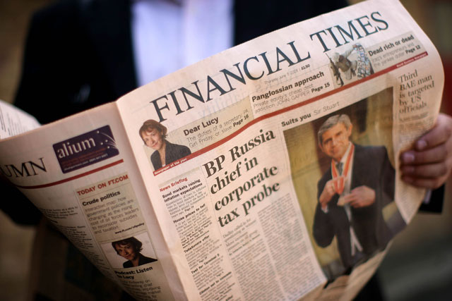 FT: digital subscriptions now exceed newspaper's print circulation
