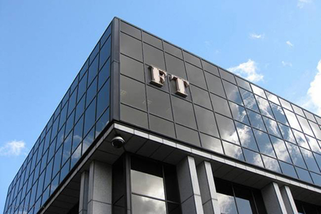 The Financial Times: editor says news no longer has place in the paper