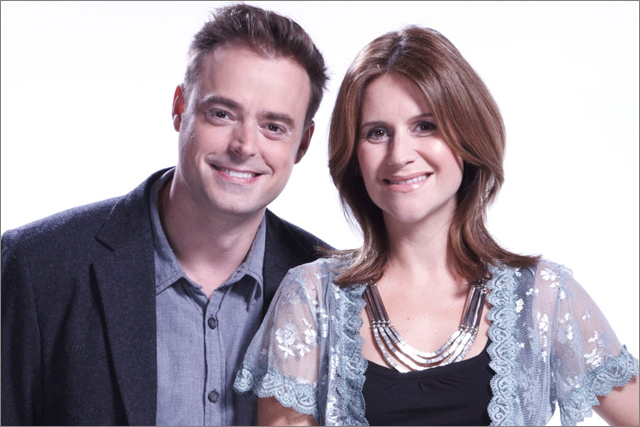 Jamie Theakston and Harriet Scott: Heart 106.2 presenters
