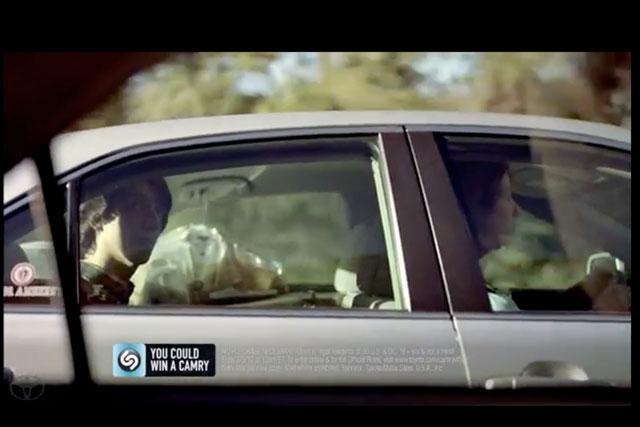 Shazam ad