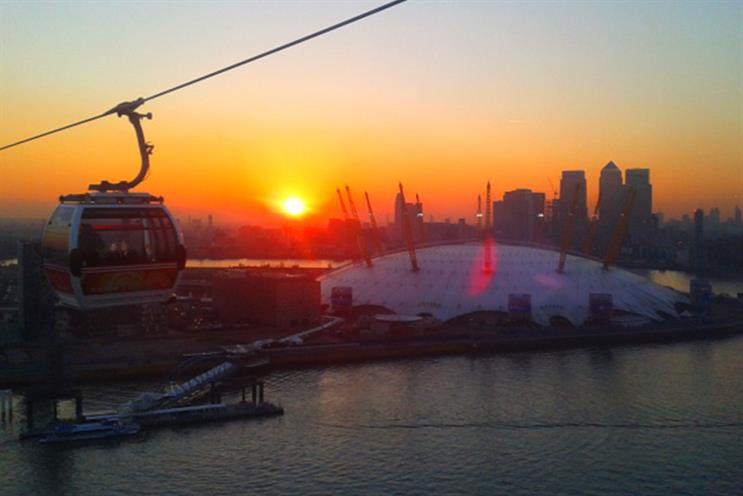 TfL: cable car is currently called Emirates Air Line