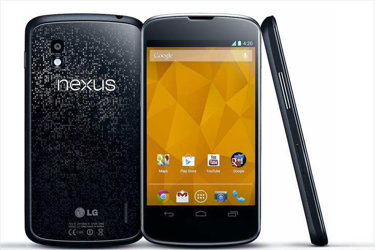 Nexus 4: Google-branded smartphone boosts manufactuirer LG's market share