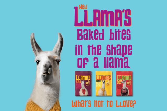 Llama's baked bites: Tesco launches snack range