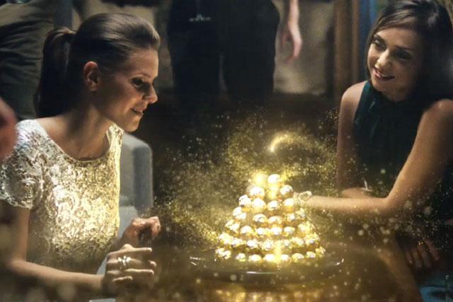 Still from Ferrero ad