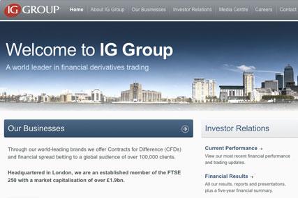 IG Group…account across ten markets
