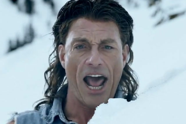 Jean Claude Van Damme: the 'muscles from Brussels' returns in the latest ad from Coors