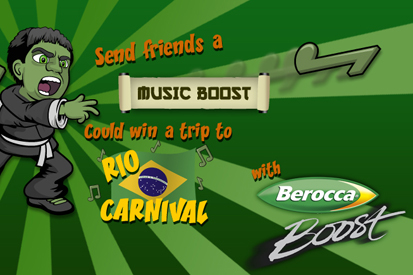 Berocca: rolls out digital campaign