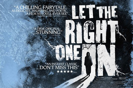 Let the Right One In: Available from Lovefilm this summer