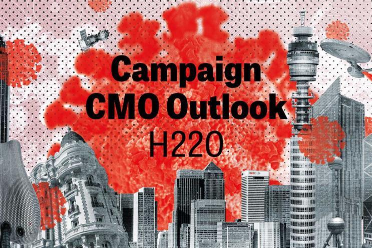 CMO Outlook: surveyed marketers in EMEA