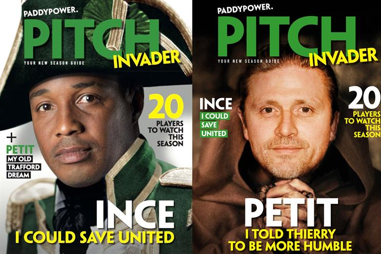 Pitch Invader: features a range of covers aimed at local markets
