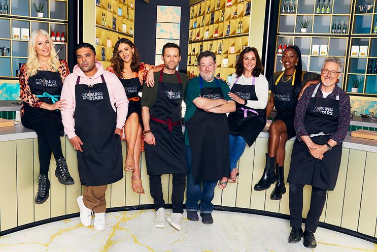 Cooking with the Stars: six-part show debuts on 13 July