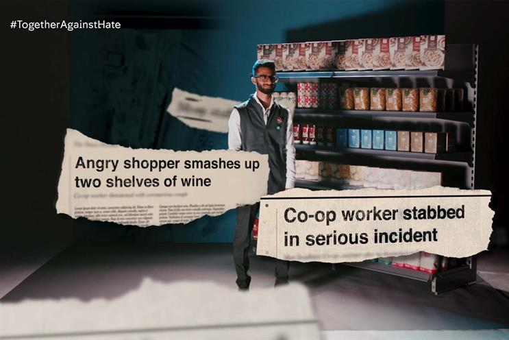 Co-op: employee's description of pride in work contrasts with news stories of violence