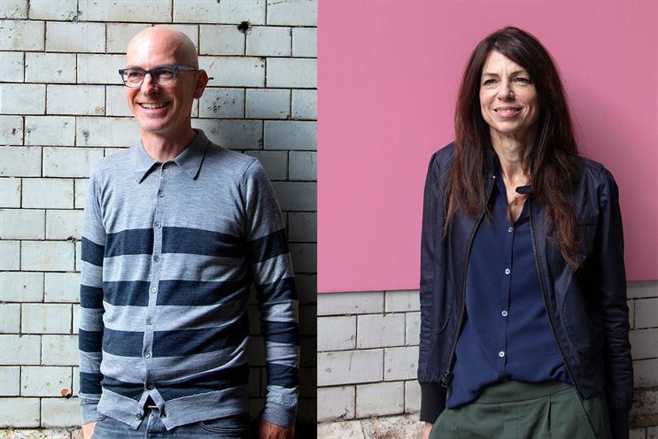 CraigandBridget: Mawdsley (left) and Angear partner on new venture.