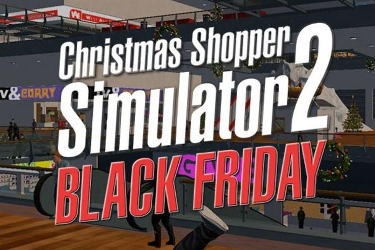 Christmas Shopping Simulator.Game Resurrects Social Media Hit Christmas Shopping