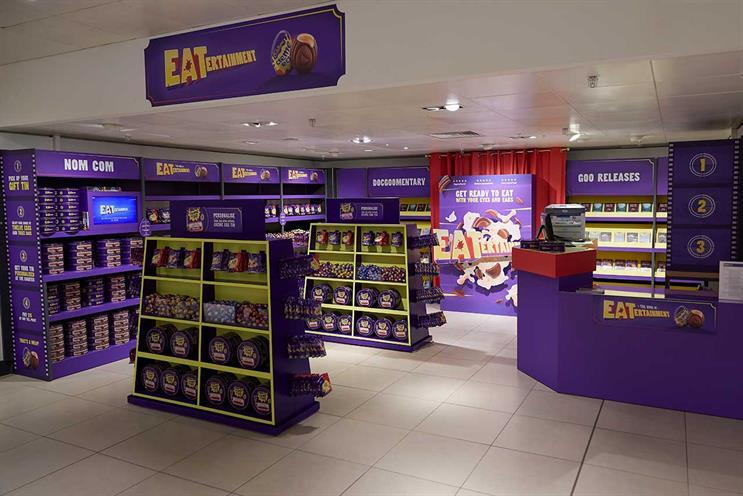 Cadbury Creme Egg: 'video shop' sells chocolate