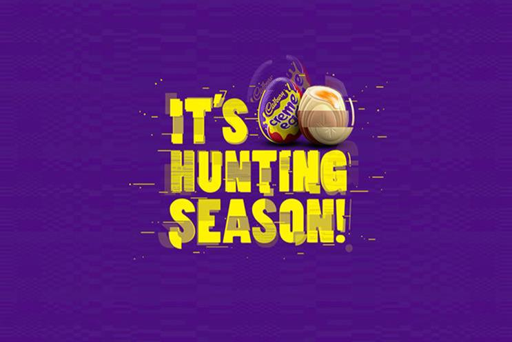 Cadbury Creme Egg partners Booking.com for white egg hunt
