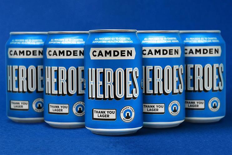 Camden Heroes: proceeds benefit healthcare workers during pandemic