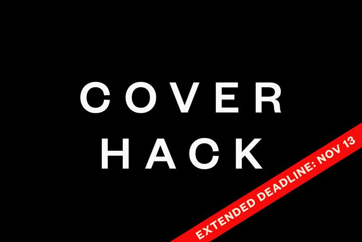 Cover Hack deadline extended: submit your creative by November 13