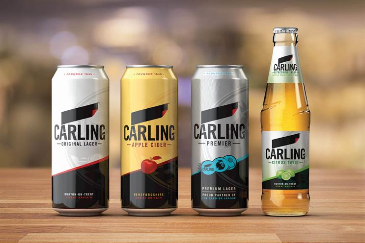 Carling: new design is created by BrandOpus