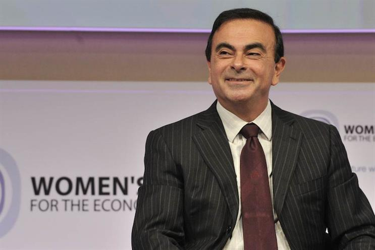 Carlos Ghosn: pictured at an earlier event, Women's Forum