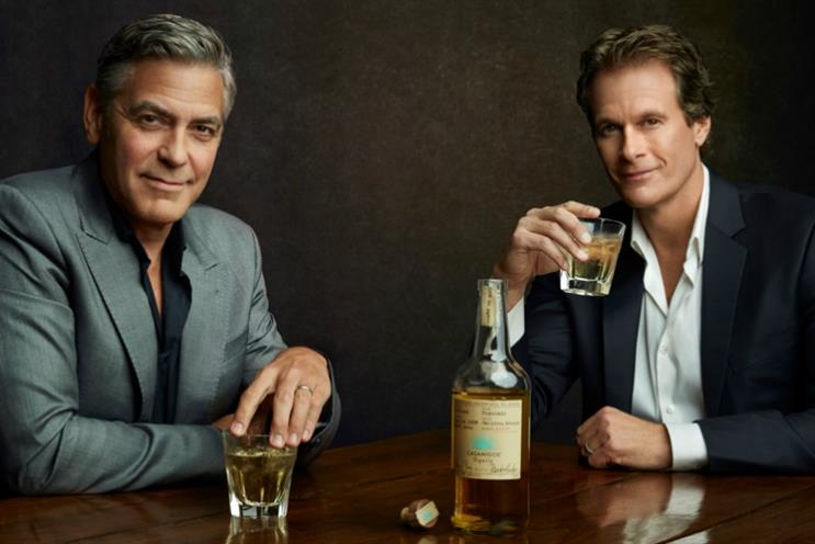 George Clooney and Rande Gerber are behind the Casamigos Tequila brand