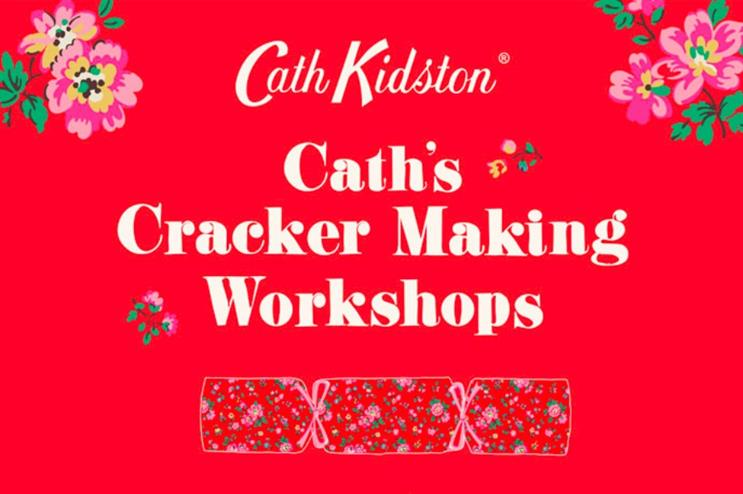 The 90-minute workshops will take place within nine stores (cathkidston.com)