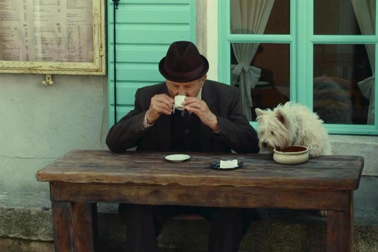 Moving image: Abbott Mead and Vickers BBDO's 'journey' ad for Cesar