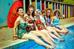 The event has been inspired by parties of the 1950s