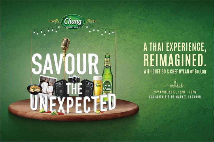 Chang: sensory food and drink journey