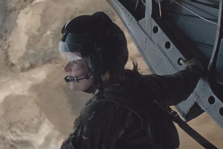 RAF: ad by Engine won award in 2018